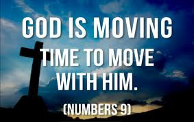 God Is Moving